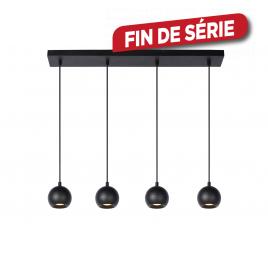 Suspension Favori GU10 20 W noir LUCIDE
