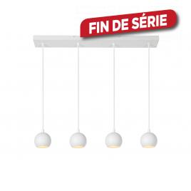 Suspension Favori GU10 20 W blanc LUCIDE