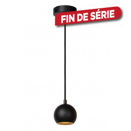 Suspension Favori GU10 5 W noir LUCIDE