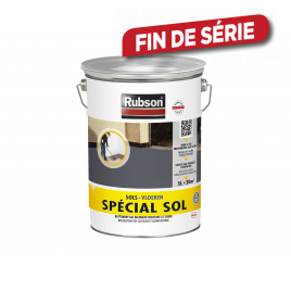Peinture étanche Spécial Sol grise foncée 5 L RUBSON
