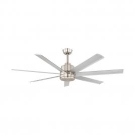 Ventilateur de plafond Azur 60 nickel Ø 152 cm EGLO