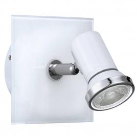 Spot de salle de bain Tamara 1 LED GU10 3,3 W blanc EGLO
