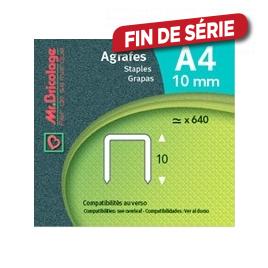Agrafe A4 - - 10 mm - MR BRICOLAGE