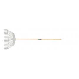 Balai à gazon avec manche en bois POLET - 53 cm