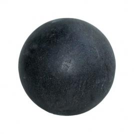 Boule noire en Terrazzo Ø 22 cm