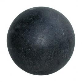 Boule noire en Terrazzo Ø 40 cm