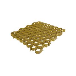Dalle gazon 50 x 50 cm jaune SCALA PLASTICS