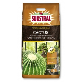 Terreau cactus et bonsaïs 6 L SUBSTRAL