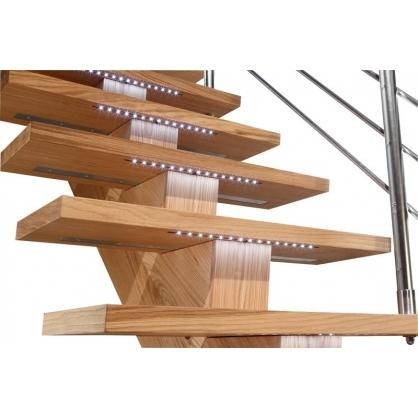 kit clairage led pour escalier sogem. Black Bedroom Furniture Sets. Home Design Ideas