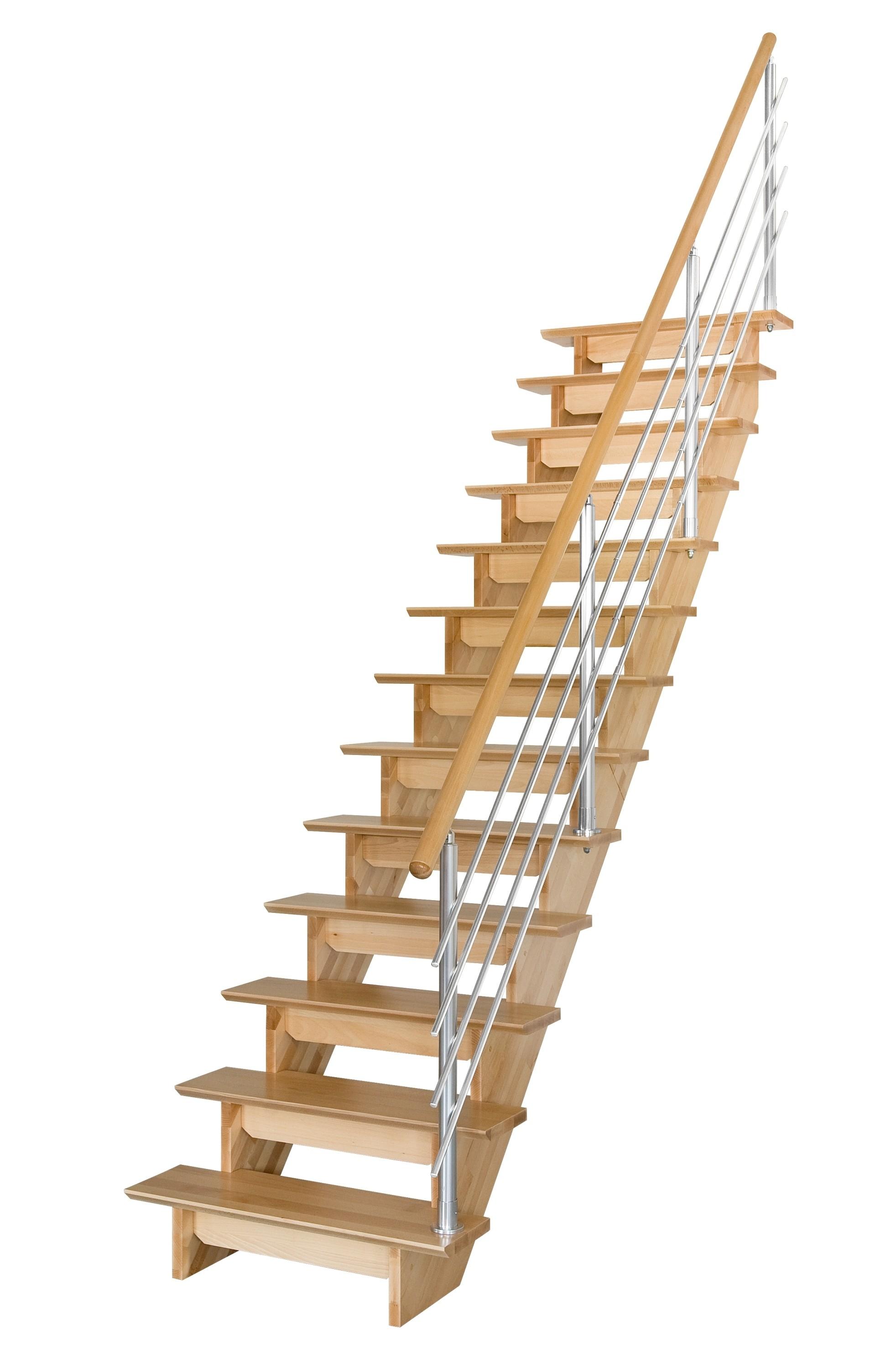 Escalier droit bois sans contremarche - Escalier sans contremarche ...