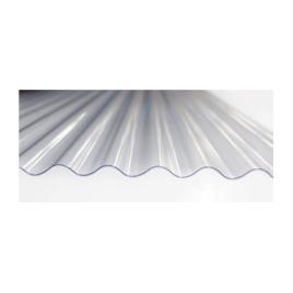 Plaque PVC 32/9 cristal 1,53 x 1,04 m