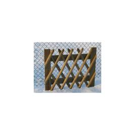 Porte cloture à croisillons 100 x 80 cm