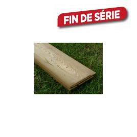 Planche à clin imprégné 1,9 x 14,5 x 210 cm