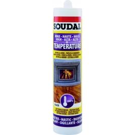 Mastic réfractaire 300 ml SOUDAL