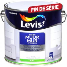 Peinture Mur Intérieur brume mate 2,5 L LEVIS
