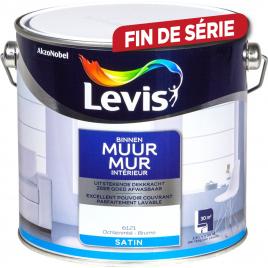 Peinture Mur Intérieur brume satinée 2,5 L LEVIS