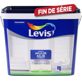 Peinture Mur Intérieur champagne mate 5 L LEVIS