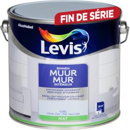 Peinture Mur Intérieur mer sauvage mate 2,5 L LEVIS