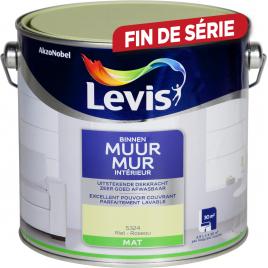 Peinture Mur Intérieur roseau mate 2,5 L LEVIS
