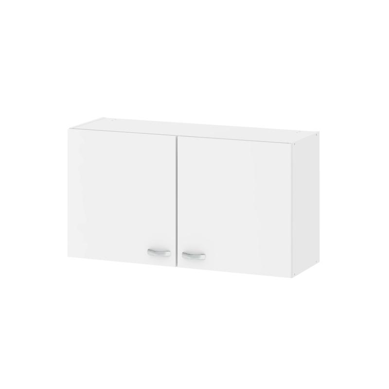 meuble de cuisine haut casa blanc avec 2 portes. Black Bedroom Furniture Sets. Home Design Ideas