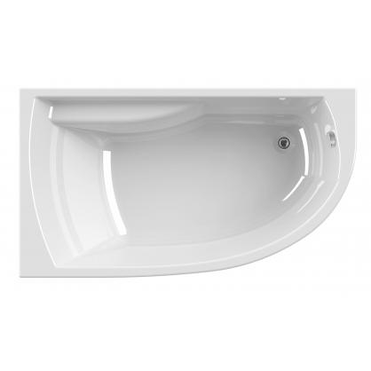 baignoire diva asym trique droite 160 x 90 cm allibert. Black Bedroom Furniture Sets. Home Design Ideas