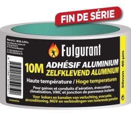 Adhésif aluminium 10 m FULGURANT CHAUFFAGE