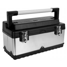 Boîte à outils acier inoxydable 505 x 235 x 225 mm PEREL