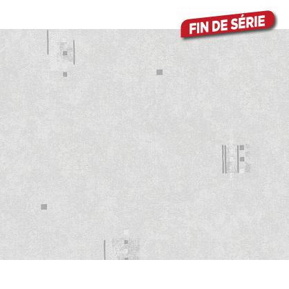 Papier peint Nassau gris argent