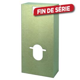 Habillage hydrofugé pour wc suspendu WIRQUIN