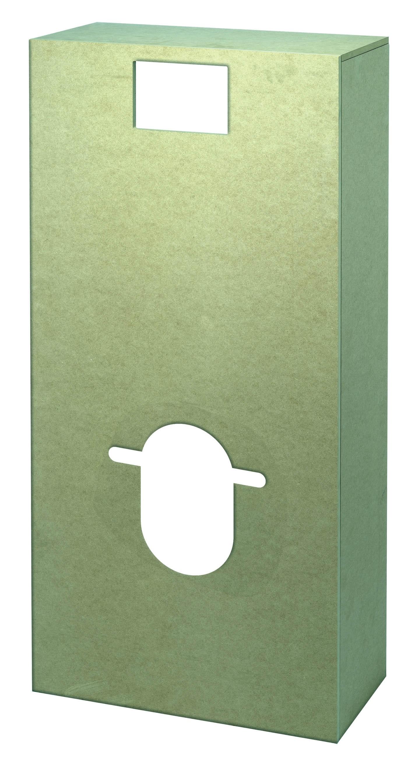 Coffrage Wc Suspendu Avec Rangement habillage hydrofugé pour wc suspendu wirquin - mr.bricolage
