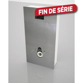 Habillage alu brosée pour wc suspendu Imageo WIRQUIN