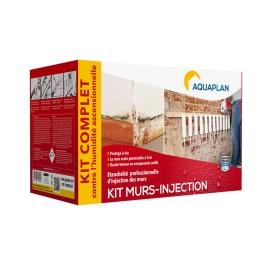 Traitement d'étanchéité Murs-Injection 5 L avec accessoires AQUAPLAN