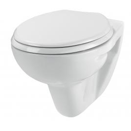 Cuvette wc suspendue avec abattant WIRQUIN
