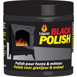 Crème pour poêle Black polish 200 g