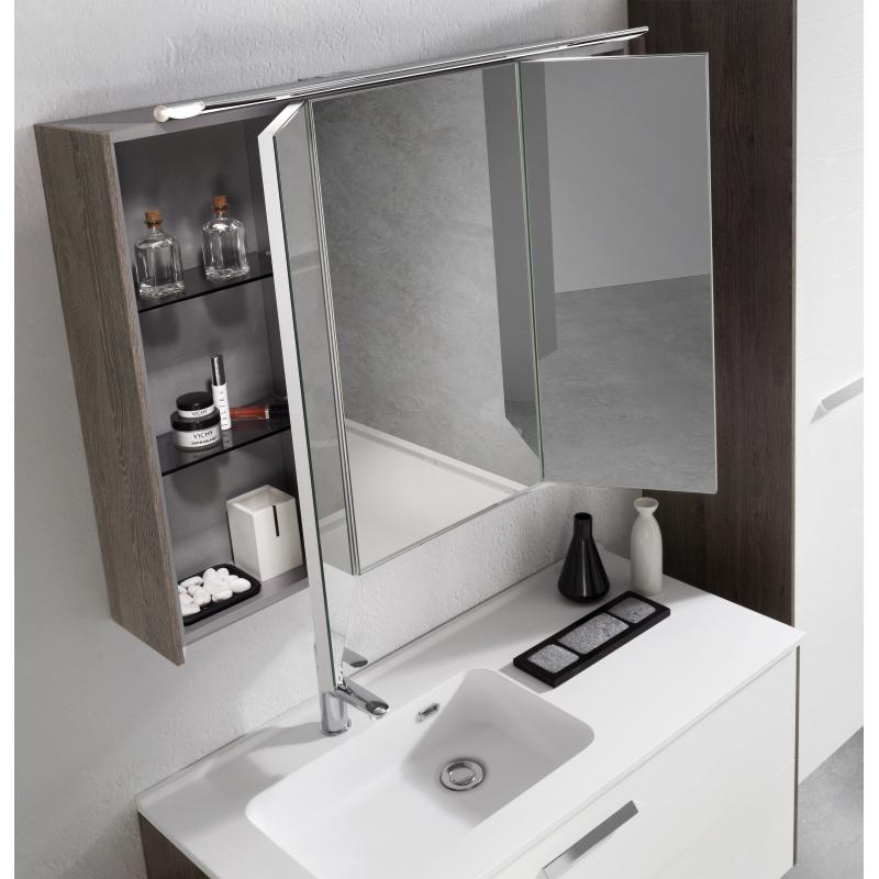 plan de toilette vasque d centr e rondo soft touch allibert. Black Bedroom Furniture Sets. Home Design Ideas