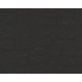 Intissé Brique - Noir