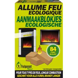 Cubes allume-feu écologiques 84 pièces