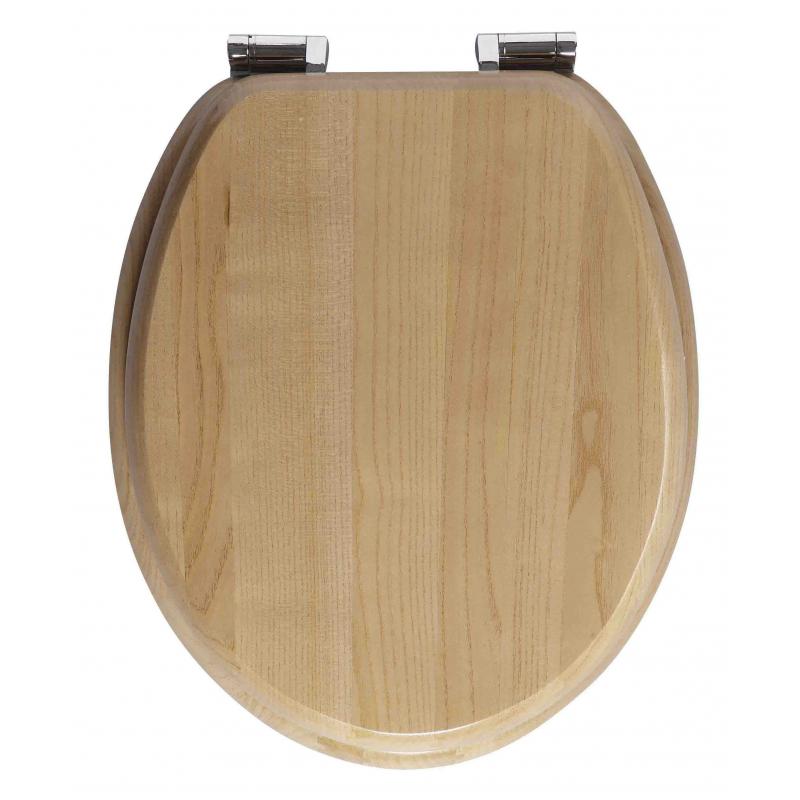 abattant de toilette amazone en bois massif allibert. Black Bedroom Furniture Sets. Home Design Ideas