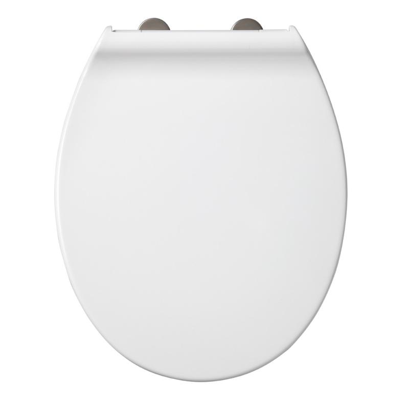 Abattant de toilette system en thermodur blanc allibert - Abattant de toilette ...
