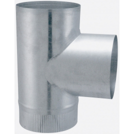 Té 90° aluminié-galvanisé EUROTIP