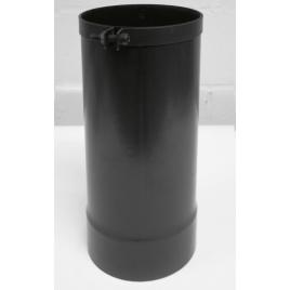 Allonge télescopique émaillée noire EUROTIP - Ø 125 mm
