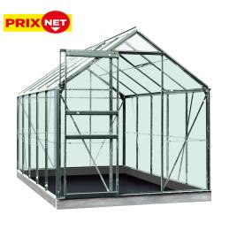 Serre Lily Grow en aluminium 6,2 m² ACD