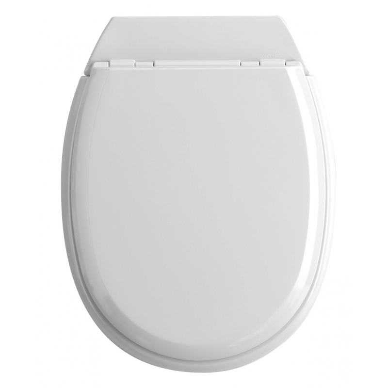 abattant de toilette atlas 2 en bois compress allibert. Black Bedroom Furniture Sets. Home Design Ideas