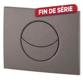 Plaque de commande Imageo wc lune suspendu - WIRQUIN - Chromé mat