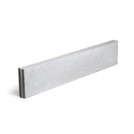 Bordure en béton grise 100 x 30 x 6 cm