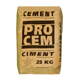 Ciment CEM II/B-M (S-V) 32,5 N 25 kg Portland