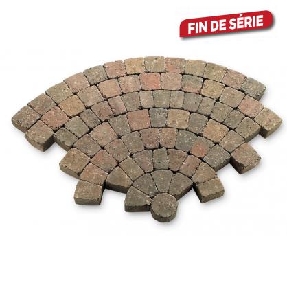 Pavé tambouriné - Cercle de jardin - Ø190 cm