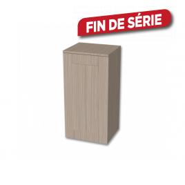 Colonne Frames mi-haute 40 cm TIGER - Chêne blanc
