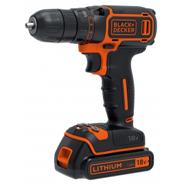 Perceuse visseuse sur batterie BDCDC18KB-QW 18 V BLACK+DECKER