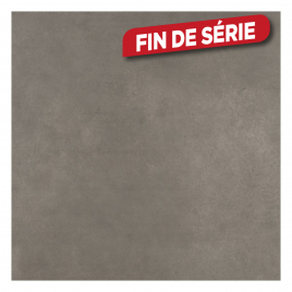 Carrelage de sol Luxury Cement Grey 60 x 60 cm 4 pièces